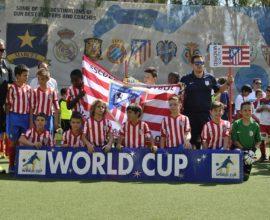 Escuela de futbol atletico Casarrubuelos